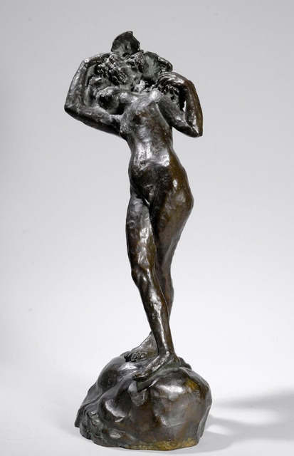 Emile-Antoine Bourdelle, 'Bacchante aux jambes croisées', Unknown, Sculpture, Bronze, HELENE BAILLY GALLERY
