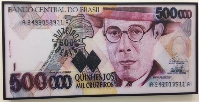 Alexandre Frangioni, 'Carimbos Cr$ 500 mil', 2016, Galerie Brésil