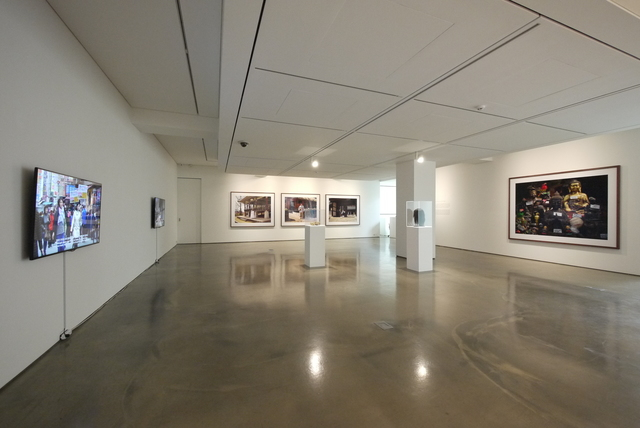 ", 'Installation view of Wan Lee solo exhibition, ""Silence in between"" (2015),' 2015, 313 Art Project"
