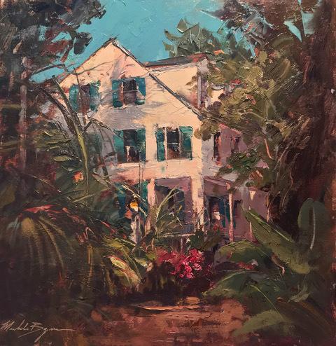 , 'Sunlight in the Gardens (Audubon House),' 2019, Gildea Gallery