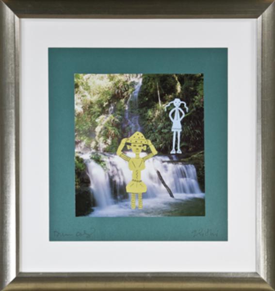 , 'Posing At Scooter Falls,' 2010, David Barnett Gallery