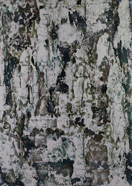 """, 'Alpine rugged """"blue green"""",' 2018, Sarasin Art"""