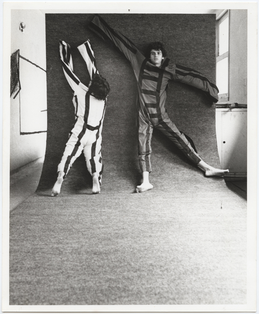 , 'Photographic documentation of the performance  Para Um Corpo Nas Suas Impossibilidades,' 1985, Galeria Jaqueline Martins