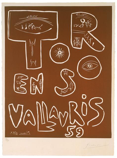 Pablo Picasso, 'Toros en Vallauris 59', 8.7.1959, Galerie Fetzer