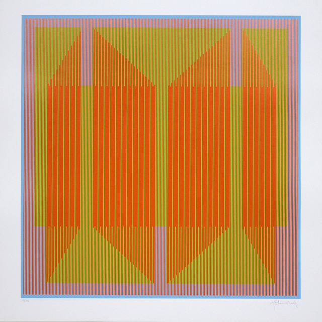 , 'Emerging Orange ,' 1970, David Richard Gallery