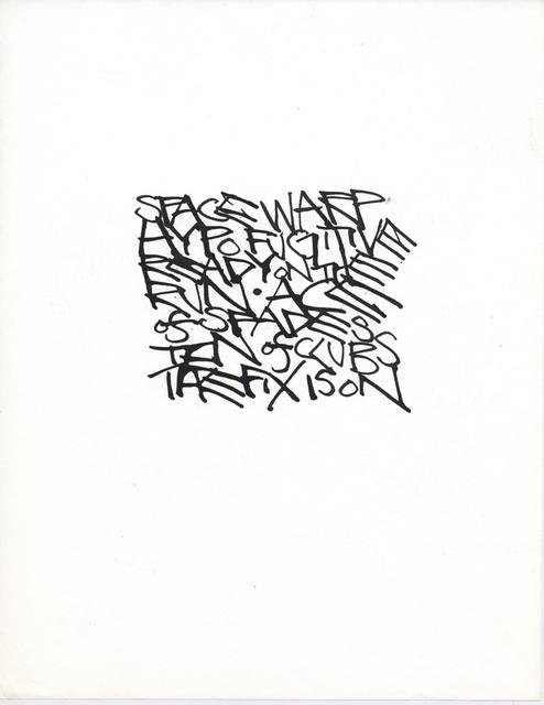 , 'Untitled (Space Warp Hypo Fugitive),' ca. 1968, Anglim Gilbert Gallery