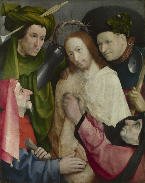 , 'Christ Mocked (The Crowning with Thorns),' about 1510, Museo Nacional del Prado