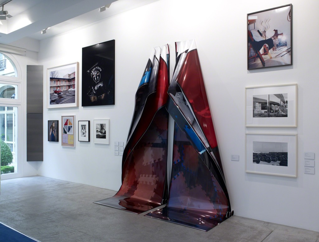 Lens Drawings, curated by Jens Hoffmann, Installation View, Galerie Marian Goodman, Paris, June 28 - August 2, 2013