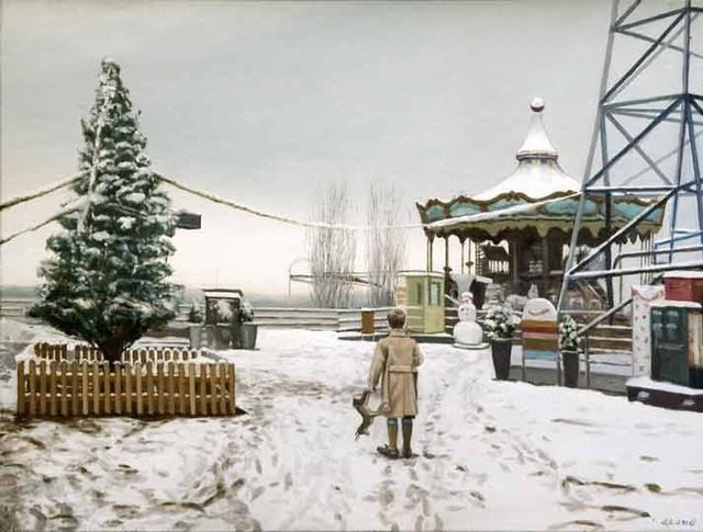 , 'Nieve en el Tibidabo,' 2017, Wally Workman Gallery