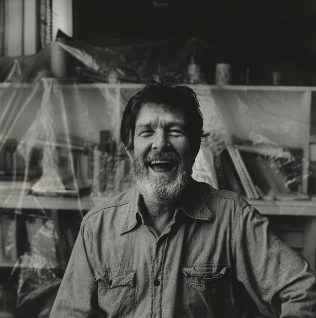 , 'John Cage Laughing (I),' 1974, Pace/MacGill Gallery