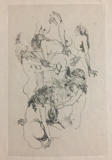 Salvador Dalí, 'Menu du banquet des amis du roman philosophique', 1933, Wallector