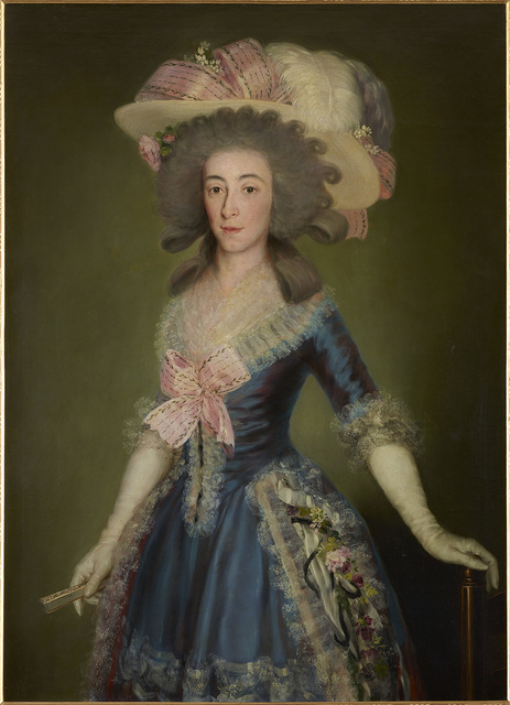 , 'The Countess-Duchess of Benavente,' 1785, The National Gallery, London