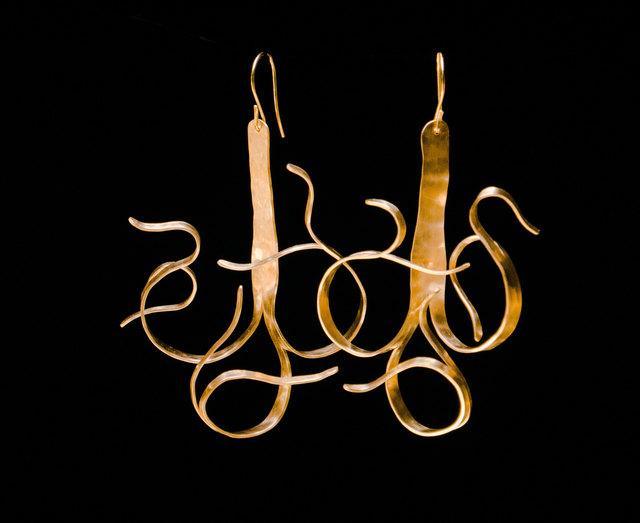 , 'Fiori Earrings,' 2018, Adelson Galleries