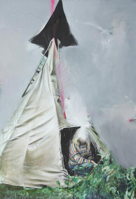, 'Mist,' 2014, the Goma