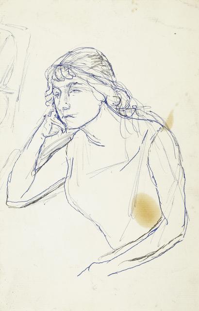 Marie Vorobieff Marevna, 'Self-portrait of a young Marevna', Roseberys