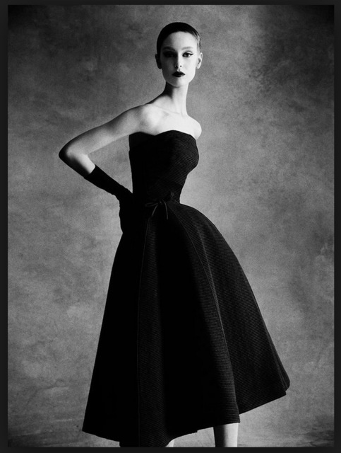 , 'Dior Sonnet dress, Autumn - Winter 1952 Haute Couture Collection,' 2013, Staley-Wise Gallery