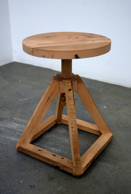 , 'Custom Stool,' 2016, David Petersen Gallery
