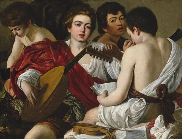 , 'Los músicos (The Musicians) ,' 1596-1597, Museo Thyssen-Bornemisza