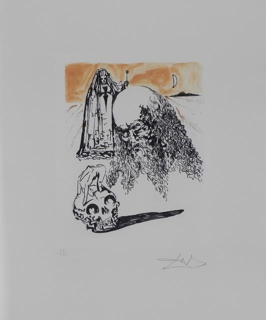 Salvador Dalí, 'La Vida es Sueno Viellart Tete de Mort ', 1973, Fine Art Acquisitions