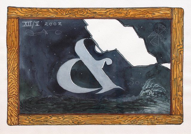 , '& So,' 2003, Hosfelt Gallery