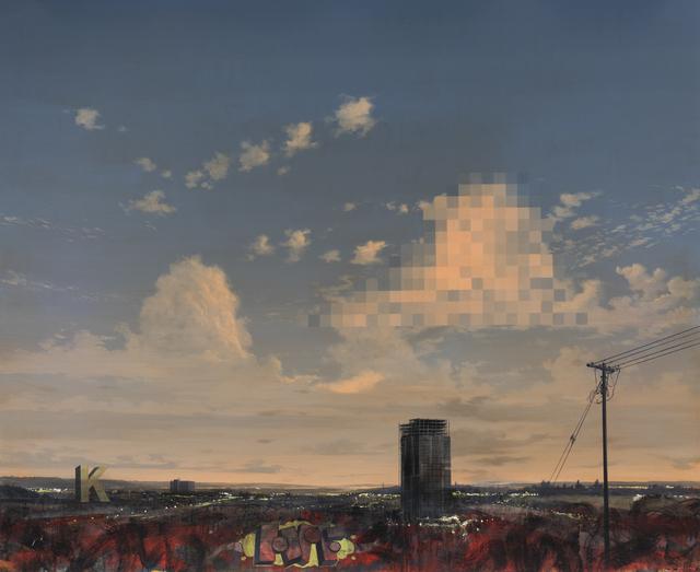 , 'The fall of apathy II,' 2018, Barnard