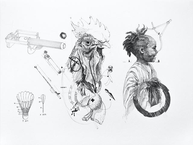 , 'Le Battement des Ailes No.X,' 2017, Selma Feriani Gallery