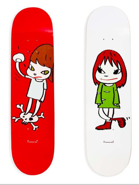 , 'Yoshitomo Nara Skateboard Deck Set,' , Gin Huang Gallery