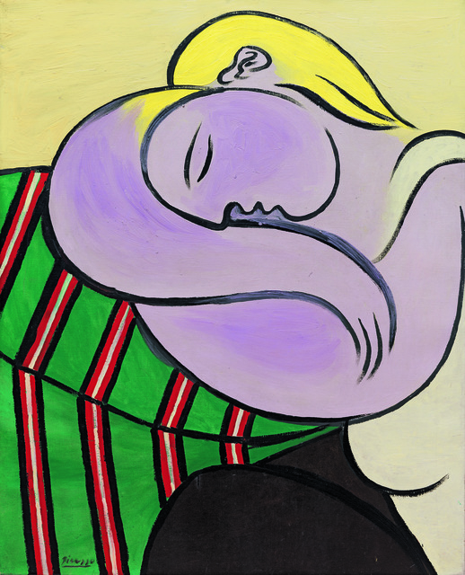 Pablo Picasso, 'Woman with Yellow Hair (Femme aux cheveux jaunes)', Paris-December 1931, Guggenheim Museum