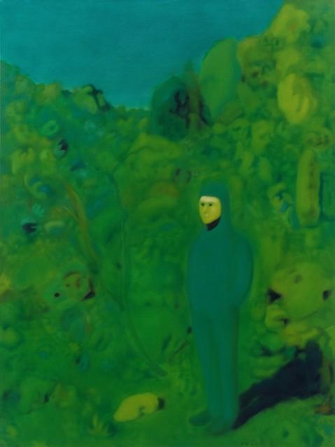 , 'Green in East Mountain,' 2017, Aye Gallery