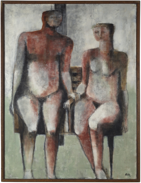 , 'Family #2,' 1958, Gerald Peters Gallery