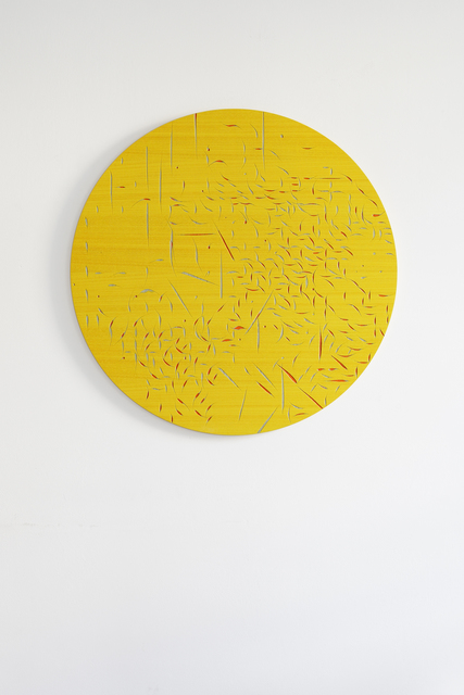 , 'Rose Window (Yellow II),' 2015, Francesca Minini