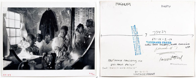 , 'Cotton Farm Children, North Carolina USA, pl 50-51,' 1965, Clark Gallery