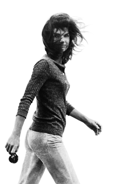 , 'Windblown Jackie, New York,' 1971, Staley-Wise Gallery