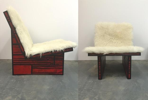 , 'Red Chair,' 2015, Studio SALES di Norberto Ruggeri