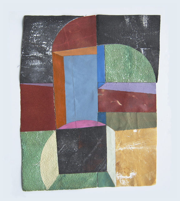 Marian Bijlenga, 'Sandpaper collage', 2018, Galerie Franzis Engels