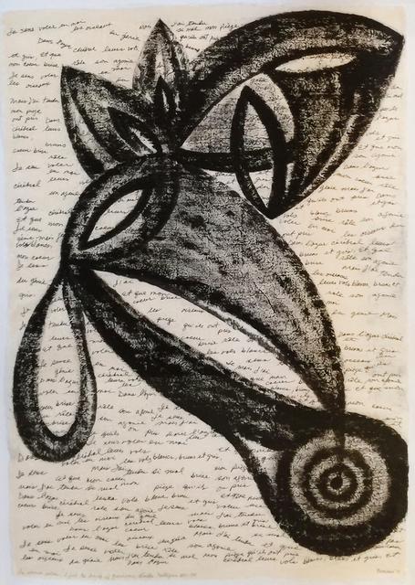 Mario Díaz Bencomo, 'Homage to E. Nelligan Je sens voler (I feel the Birds of Genius)', 2013, LNS Gallery