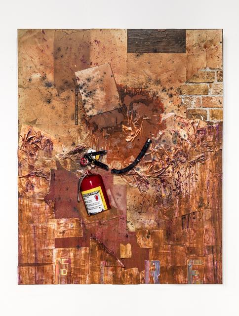 , 'Fire Starter,' 2016, Galerie Nathalie Obadia
