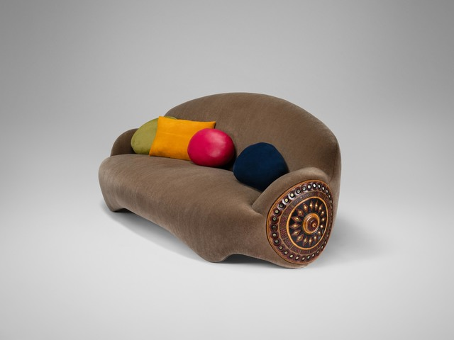 , 'Sofa 'Shield',' 2014, David Gill Gallery