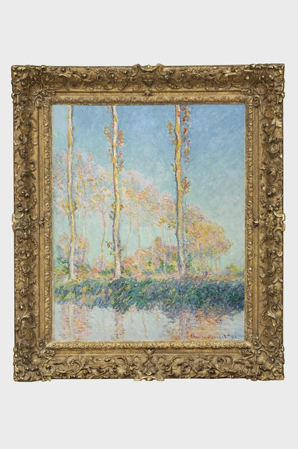 , 'Poplars (Peupliers),' 1891, Art Gallery of Ontario (AGO)