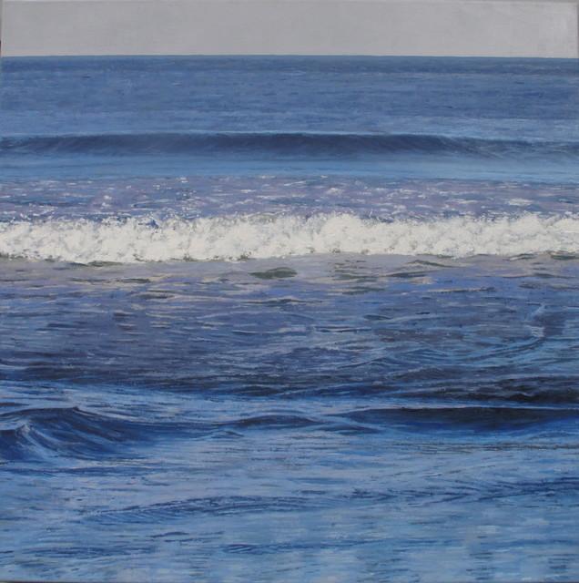 Thomas Sarrantonio, 'Blue Painting', 2019, Jessica Hagen Fine Art + Design