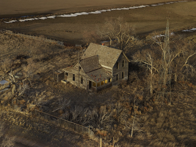 , 'The Yellow Porch, Sheridan County, Nebraska, from the series Dirt Meridian,' 2013, Yancey Richardson Gallery