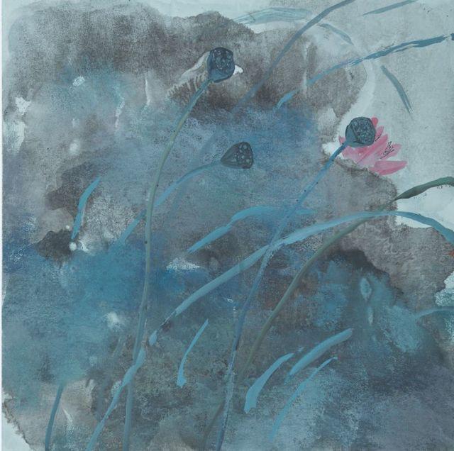 , ' 春色无边 Boundless Colors of Spring ,' 2016, Ode to Art