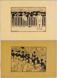 2 sheets: Deuxième Bureau, Le Monôme
