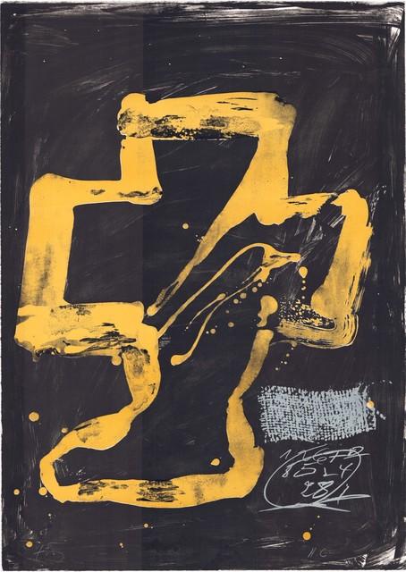 Antoni Tàpies, 'Variations XI: Personnage assis', 1980-1990, ARTEDIO