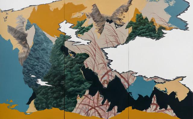 , 'Landscape of the Night-8,' 2017, Aki Gallery