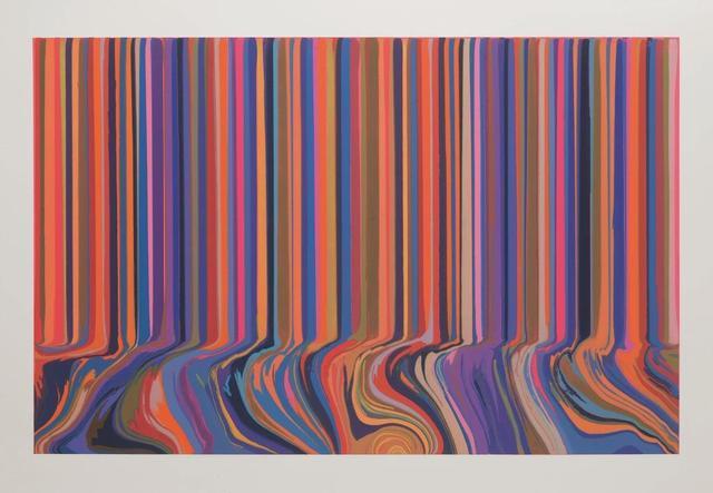 , 'Colourcade Buzz: Double Repeat on Orange,' 2017, Alan Cristea Gallery