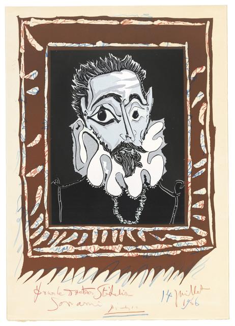 Pablo Picasso, 'L'homme à la fraise', 1963, Christie's