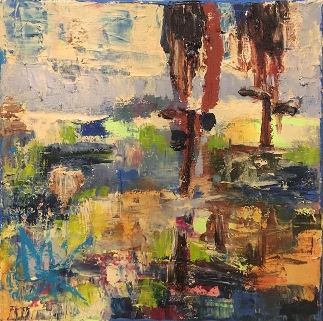 Mariam Qureshi, 'Side by side through muddy waters ', 2017, Lotus Art Gallery