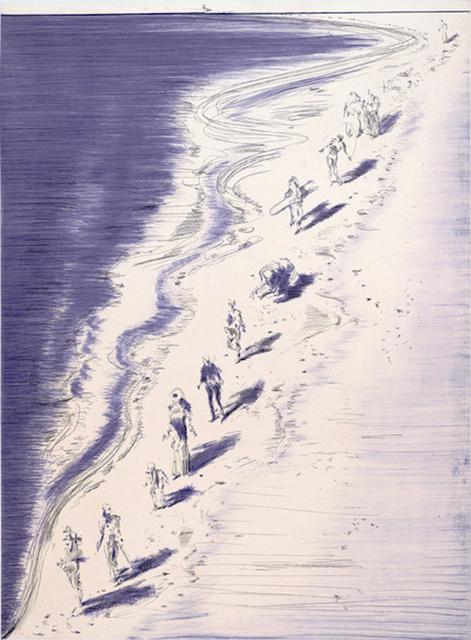 Wayne Thiebaud, 'Tide Figures', 2006, Cynthia Drennon Fine Arts
