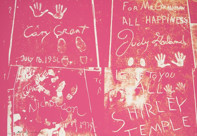 Andy Warhol, 'Sidewalk', 1983; published 1984, Los Angeles Modern Auctions (LAMA)